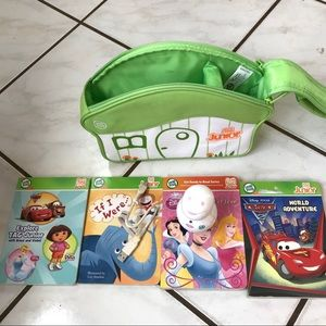 Leapfrog TAG Junior Scout Bundle with Books & Case